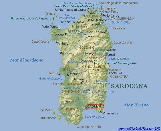sardegna mappa L'economia reale della Sardegna negli ultimi 20 anni